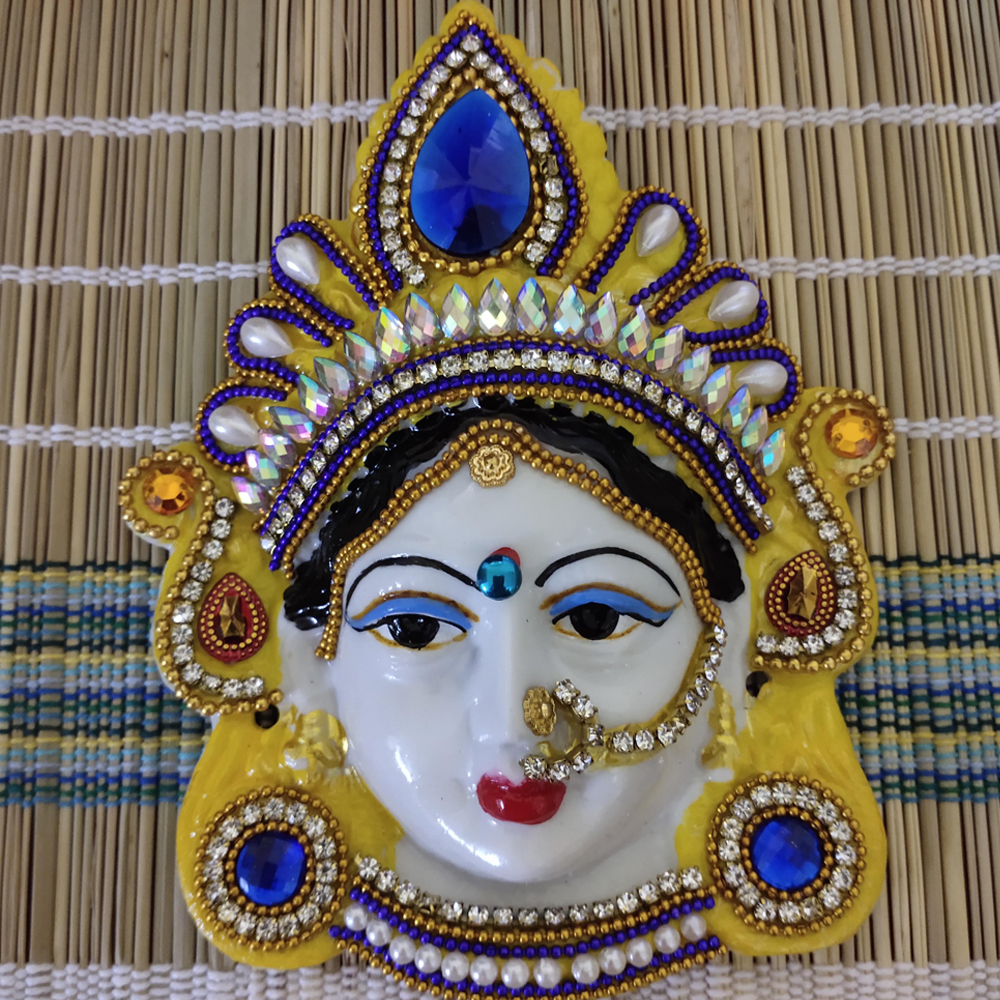 Ammavari Face With Kundan Work - 5