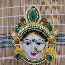 Ammavari Face With Kundan Work - 1