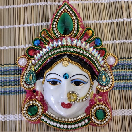 Ammavari Face With Kundan Work - 3
