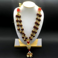 Diamond Rudraksha Mala (14 Inchs)