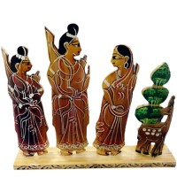 Lord Rama and Sita Decorative Stand