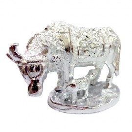 Cow With Calf (German Silver)