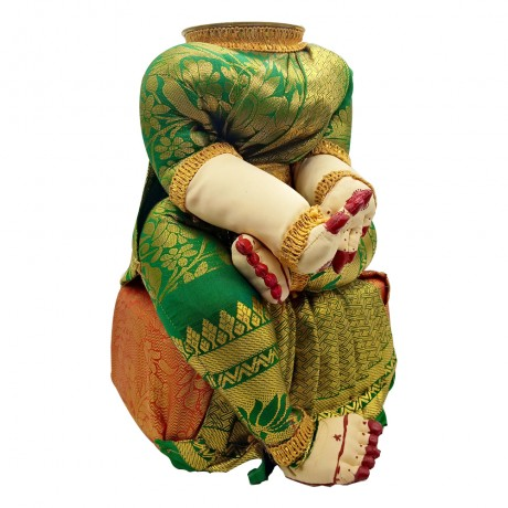 Ammavari Idol (Green Colour) (10 inchs)