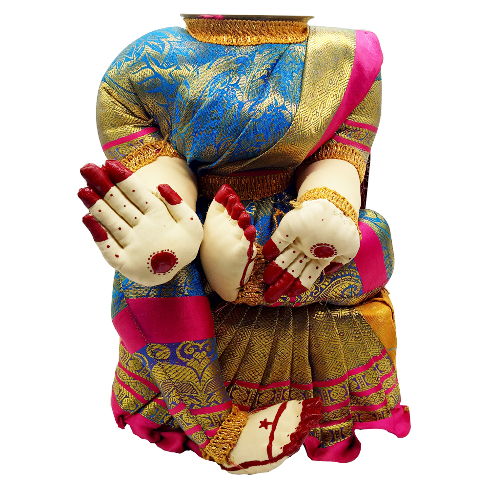 Ammavari Idol (Blue Colour with Pink Border) (10 Inchs)