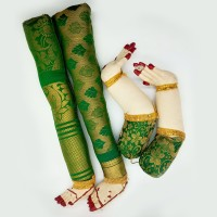 Decorated Hands and Legs (Green Colour)