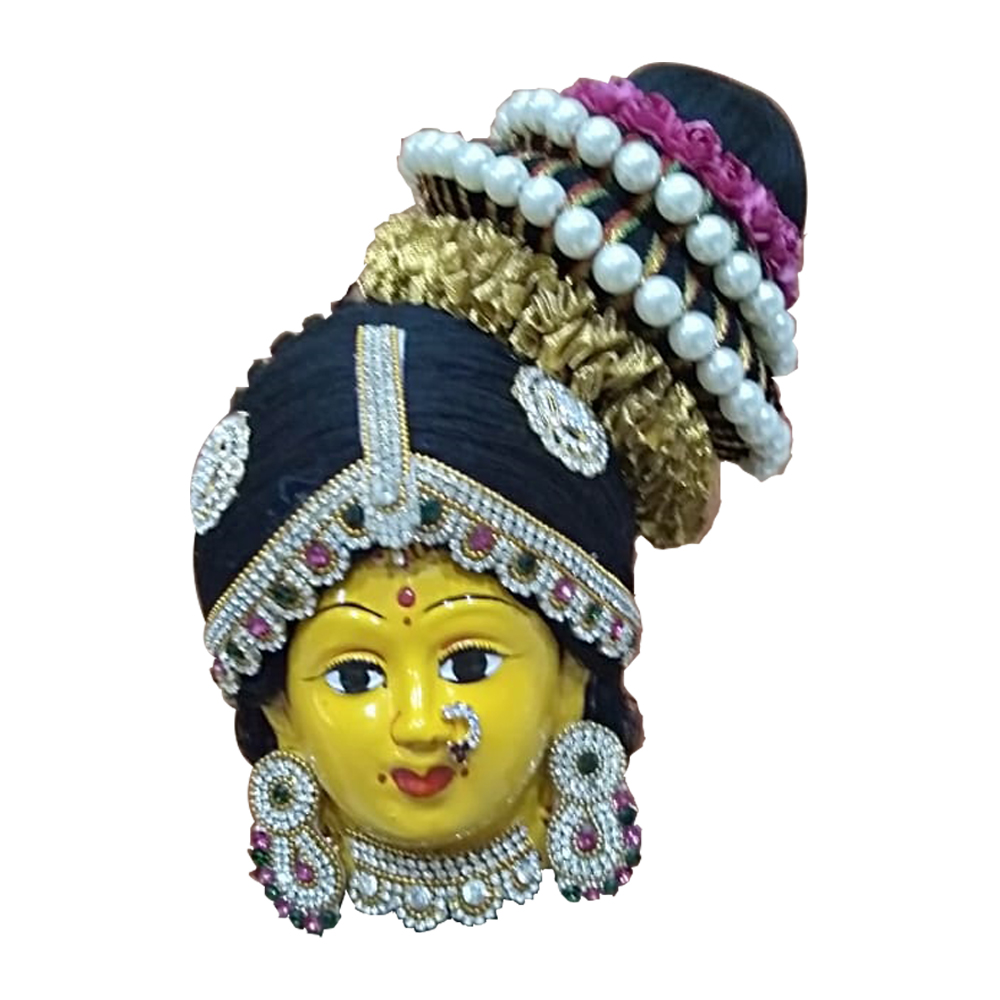 Decorated Ammavari Face - 5