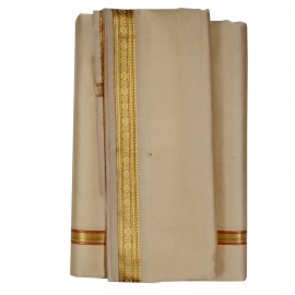 Banaras Dhothi (Red Colour) (9*5)