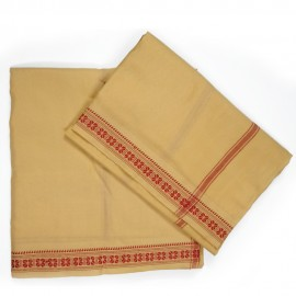 Banaras Dhothi (Cream Colour) (9*5)