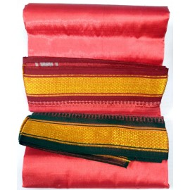 Dhothi for Utsava Vigraham (Red Colour) (1.8 Meters)