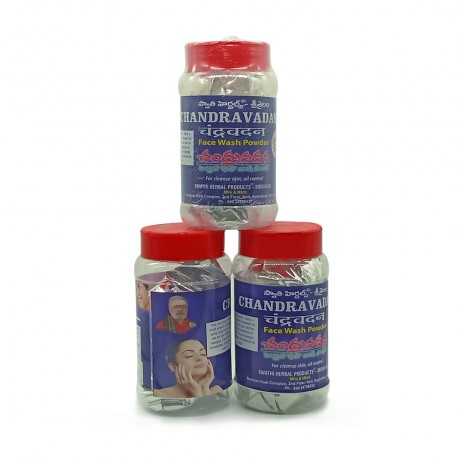 Chandravadana Herbal Face Wash Powder