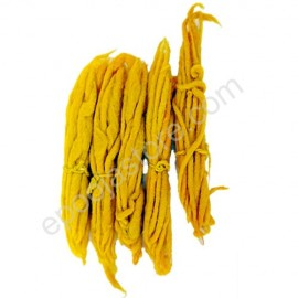 Yellow Cotton Wicks (Pasupu Vattulu) (10 Packs)