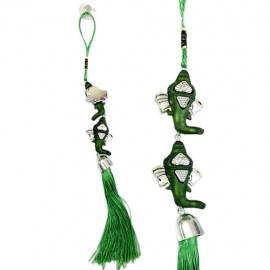 Ganesha Car Hanging (Green)
