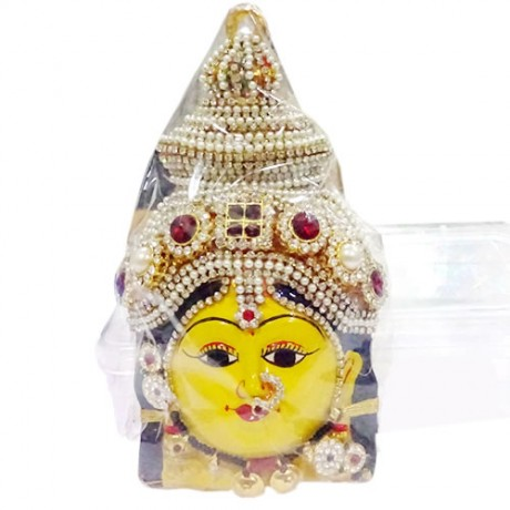 Ammavari Face  (With white and Marron Stones)