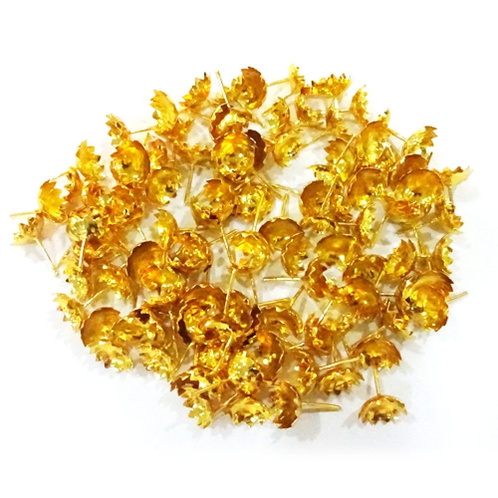 Gold Coated  Flowers For Lakshmi Devi (108 Flowers)