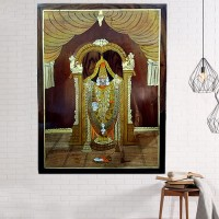 Balaji Rosewood Curved Paintings