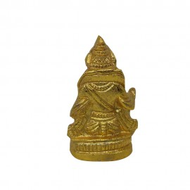 Lord Kubera Brass Idol - Small