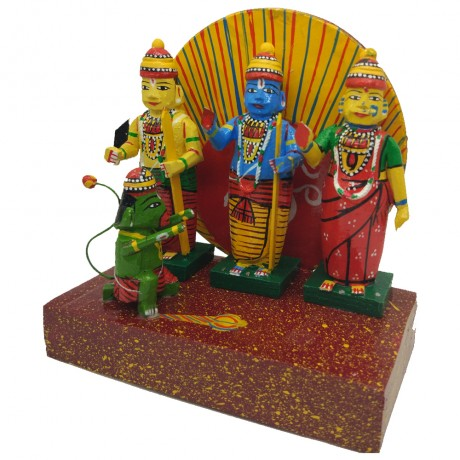 Handicraft Rama Parivar Set