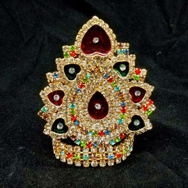 Mukut for God / Goddess (Multi Colour Stones)